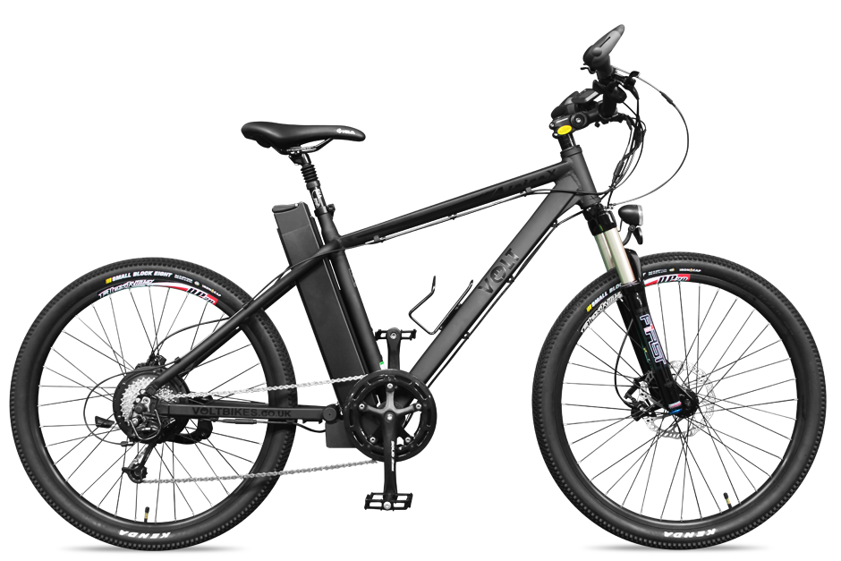 VOLT™ Alpine X Black 2014 Electric Mountain Bike