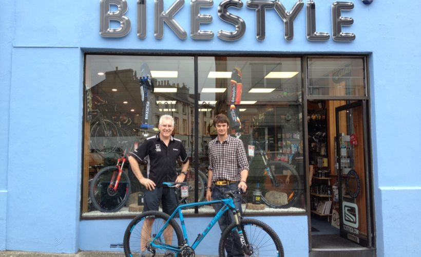 Bikestyle bike shop on the Isle of Man