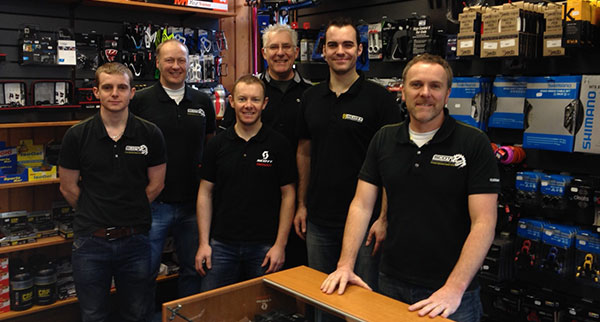 Knowledgable Cycle enthusiast staff at Bikestyle, Douglas, Isle of Man