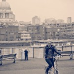 Cycling near St Pauls