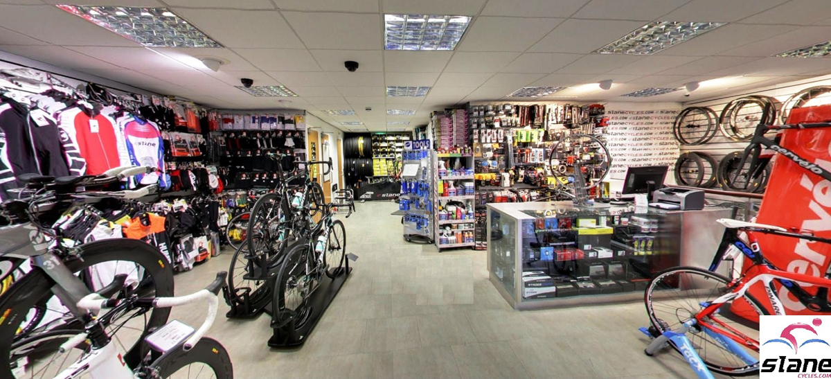 Slane Cycles interior