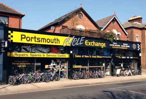 Portsmouth Cycle Exchange shop front