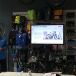 Shimano presentation with a slide featuring