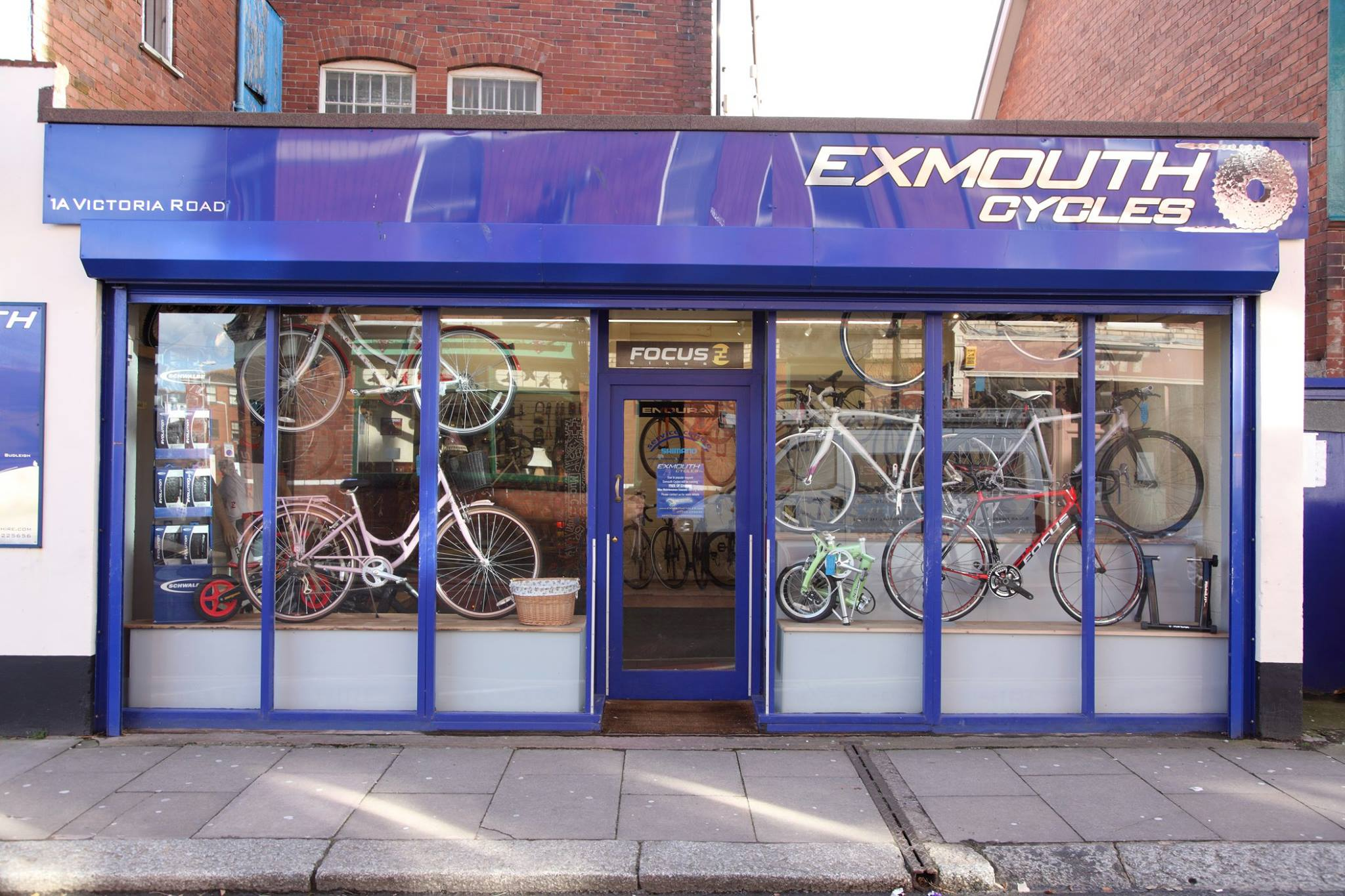 Exmouth Cycles shop front