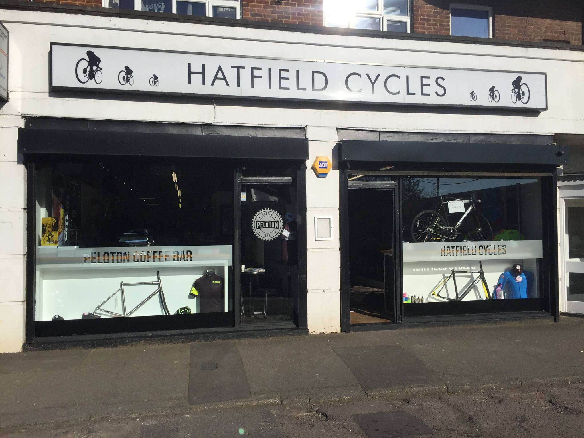Hatfield Cycles shop front