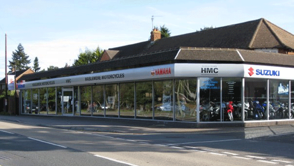 Haslemere Cycles storefront