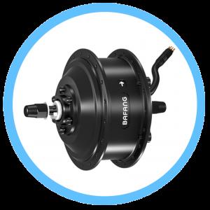 Crank & Rear Hub motors on e-bikes