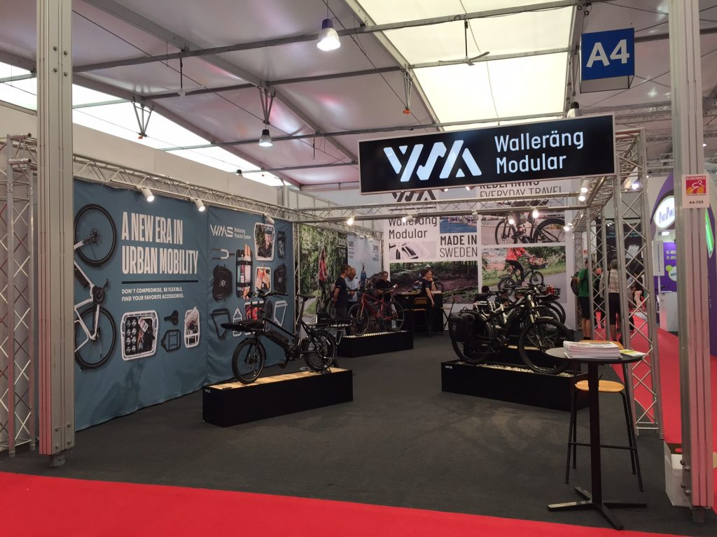 Wallerang e-bikes feature at Euro Bike's Festival Day