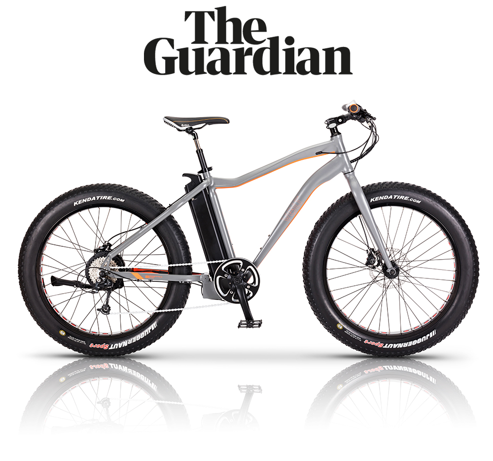 The Guardian features the VOLT Bigfoot fat tyre e-bike