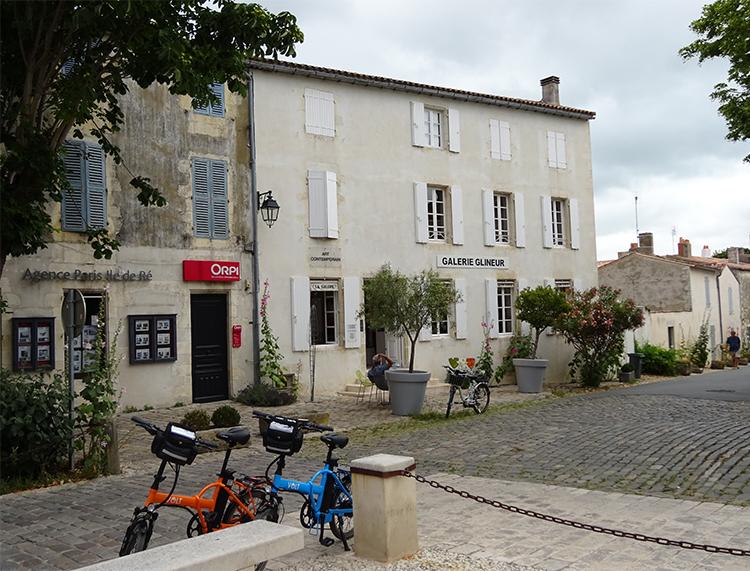 VOLT Metro electric bikes on Ile de Re, France