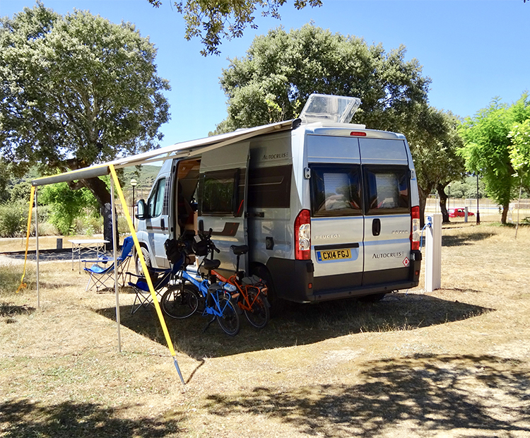 Motorhome with VOLT electric bikes