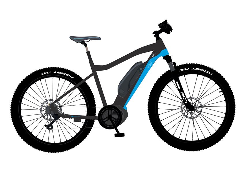 Apex New E-bike for 2019