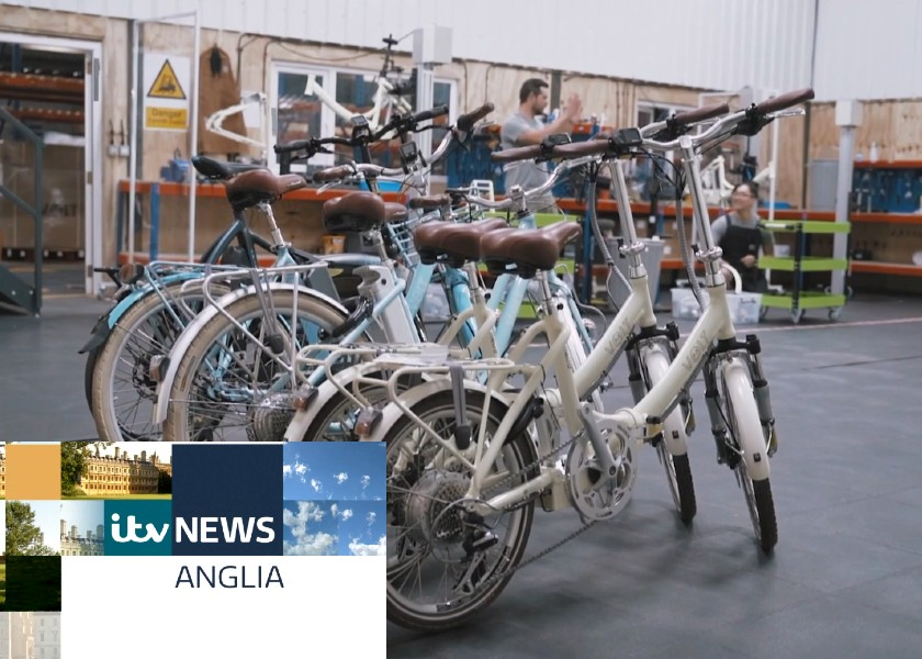A Sneak Peek inside the Factory for ITV East Anglia