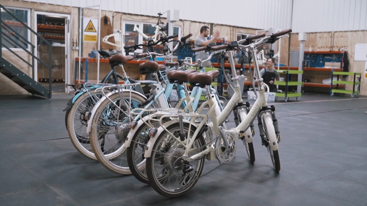 Volt Bikes Factory on ITV News Anglia