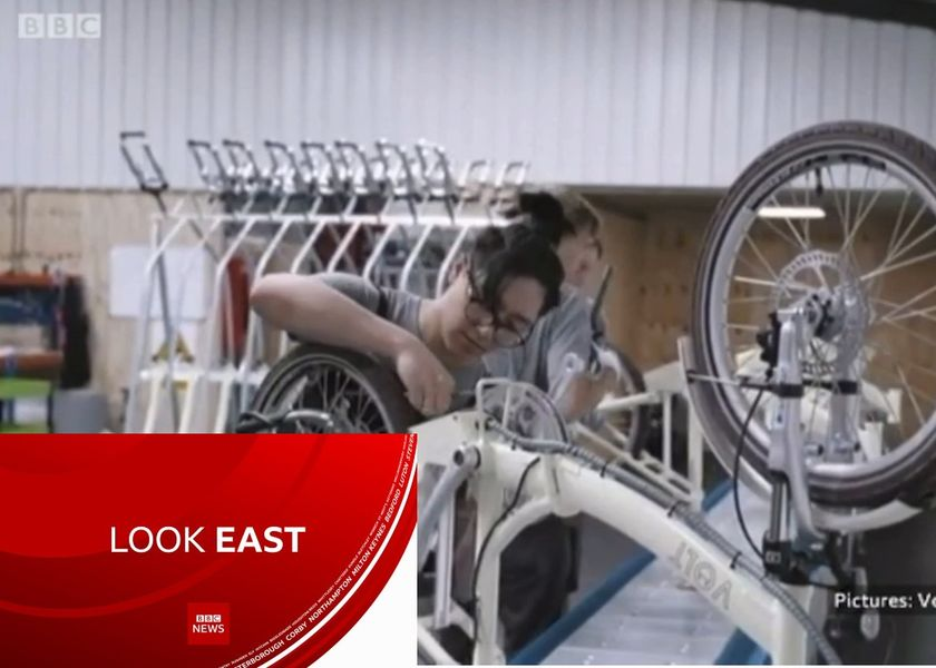 More E-bike Factory Footage Shared on BBC Look East