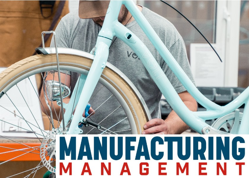 "Manufacturing Management Mag Choose ""One of UK's leading startups"" Volt for their cover story"