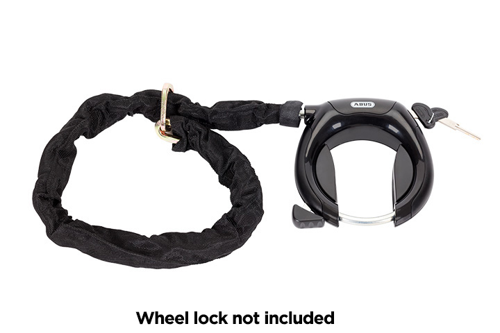 Chain lock for VOLT™ electric bikes