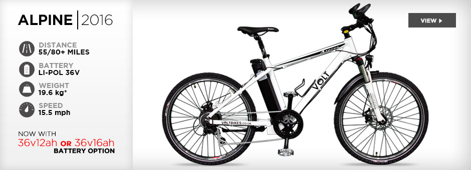 2014 VOLT Alpine electric mountain bike