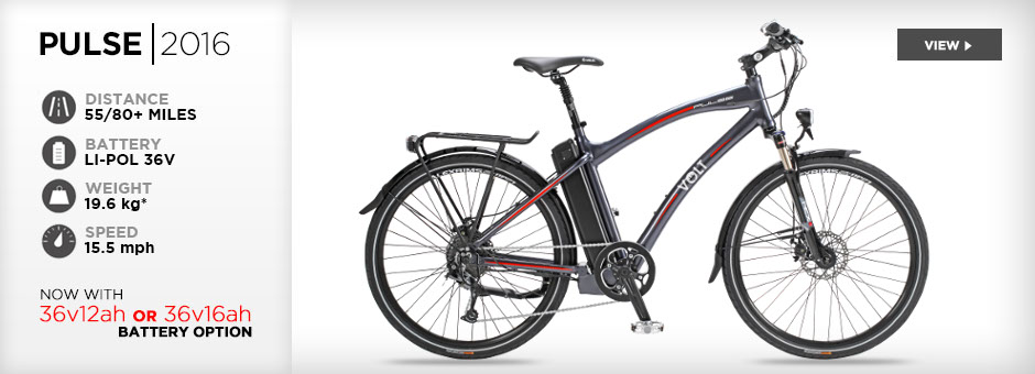 2014 VOLT Pulse hybrid electric bike