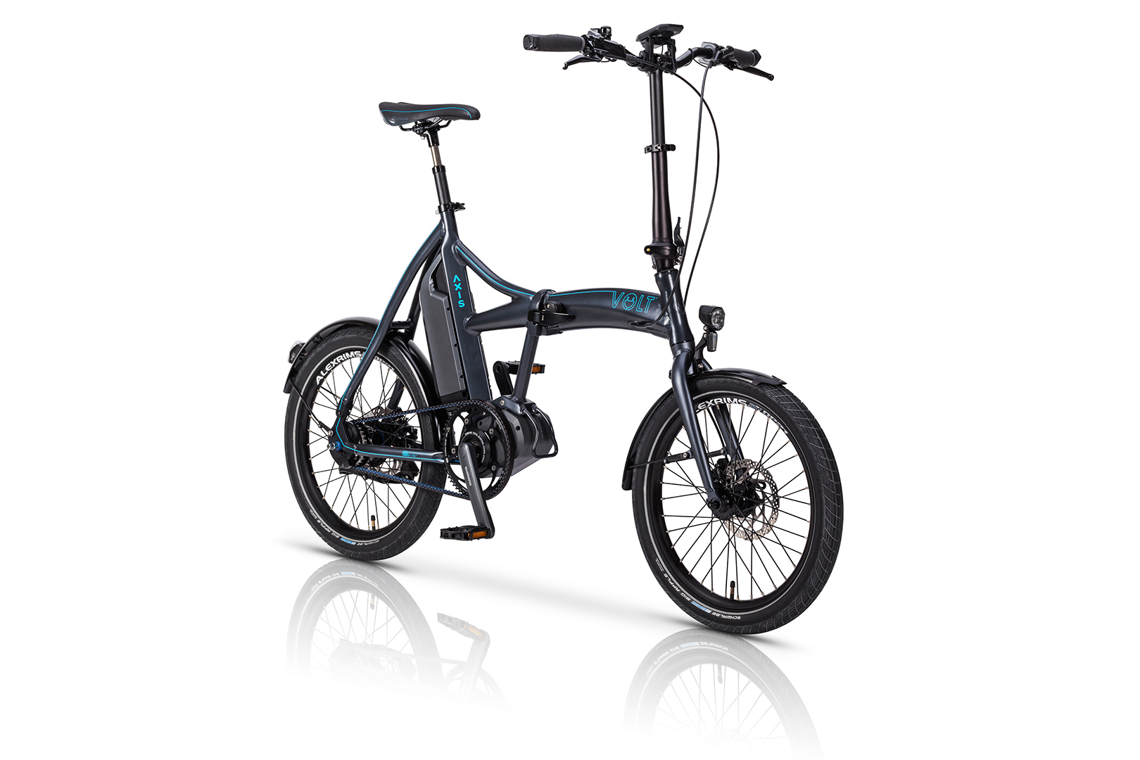 Axis Folding Shimano STEPS e-bike from Volt