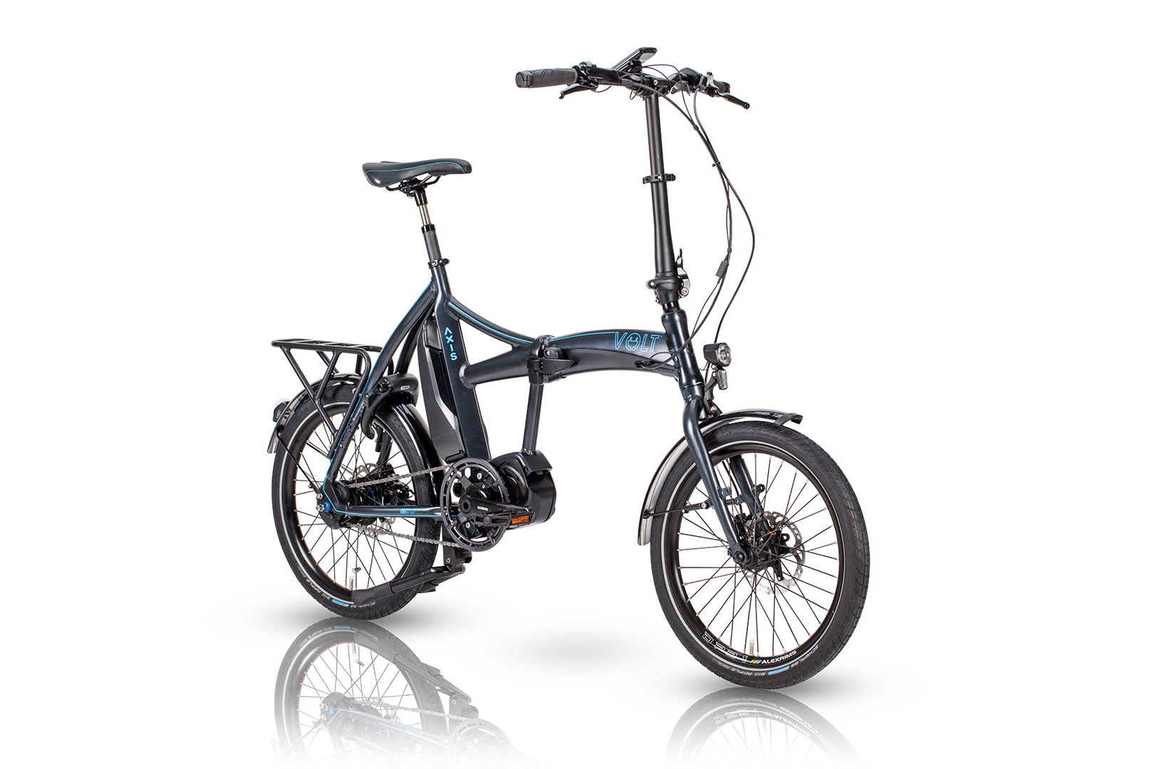 Axis Folding Shimano STEPS e-bike from VOLT™