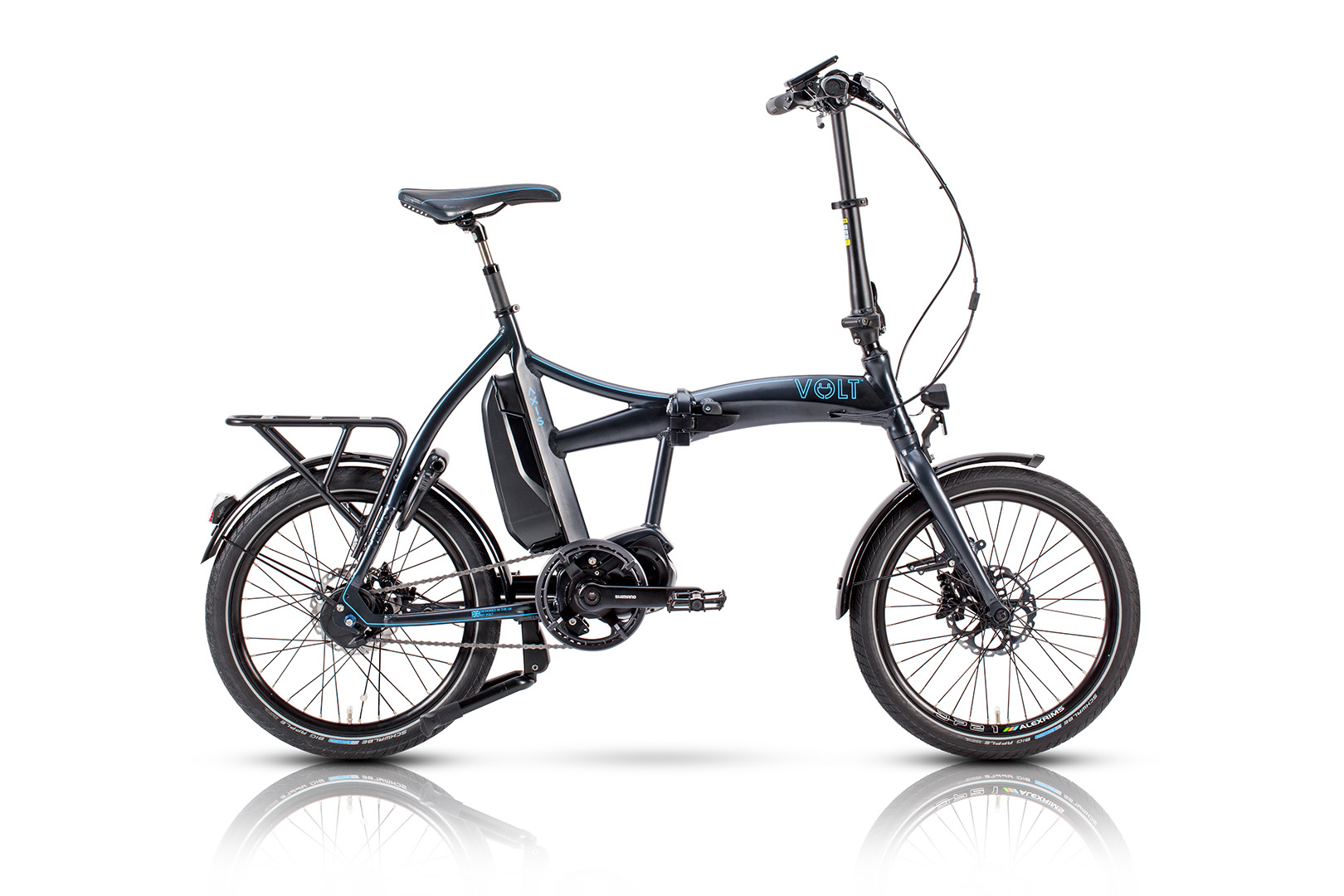 axis shimano steps folding electric bike. Black Bedroom Furniture Sets. Home Design Ideas
