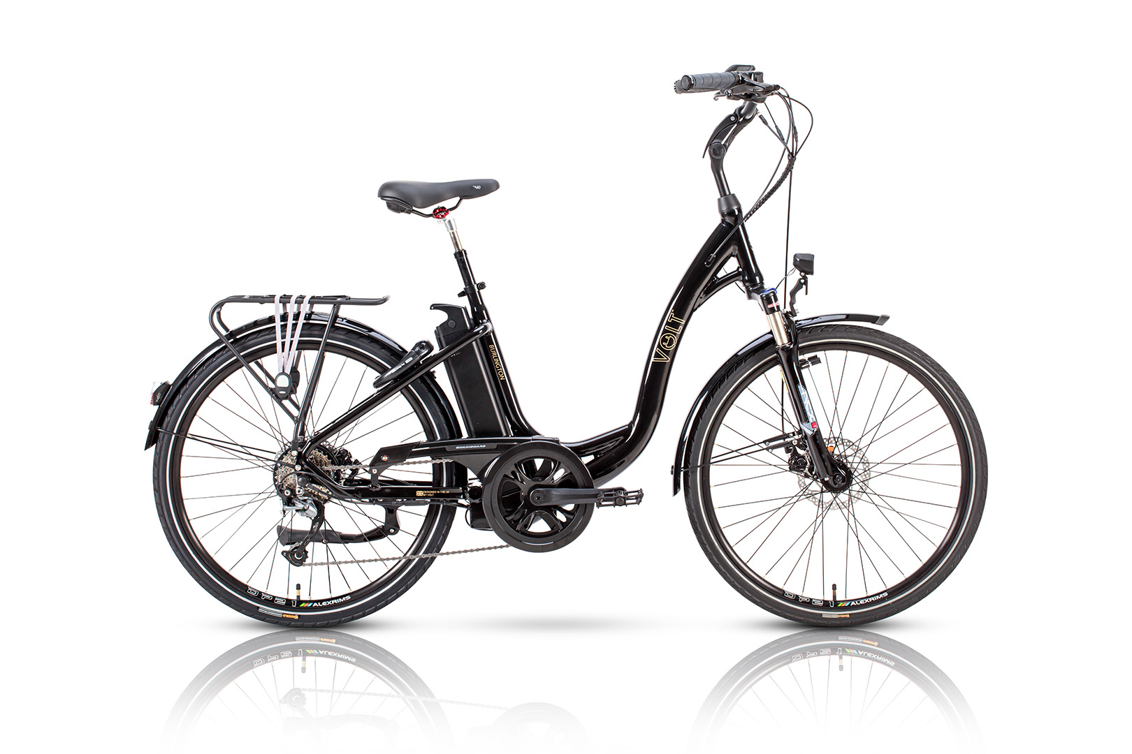 c92a365386f Volt Burlington | Step through Classic Electric Bicycle