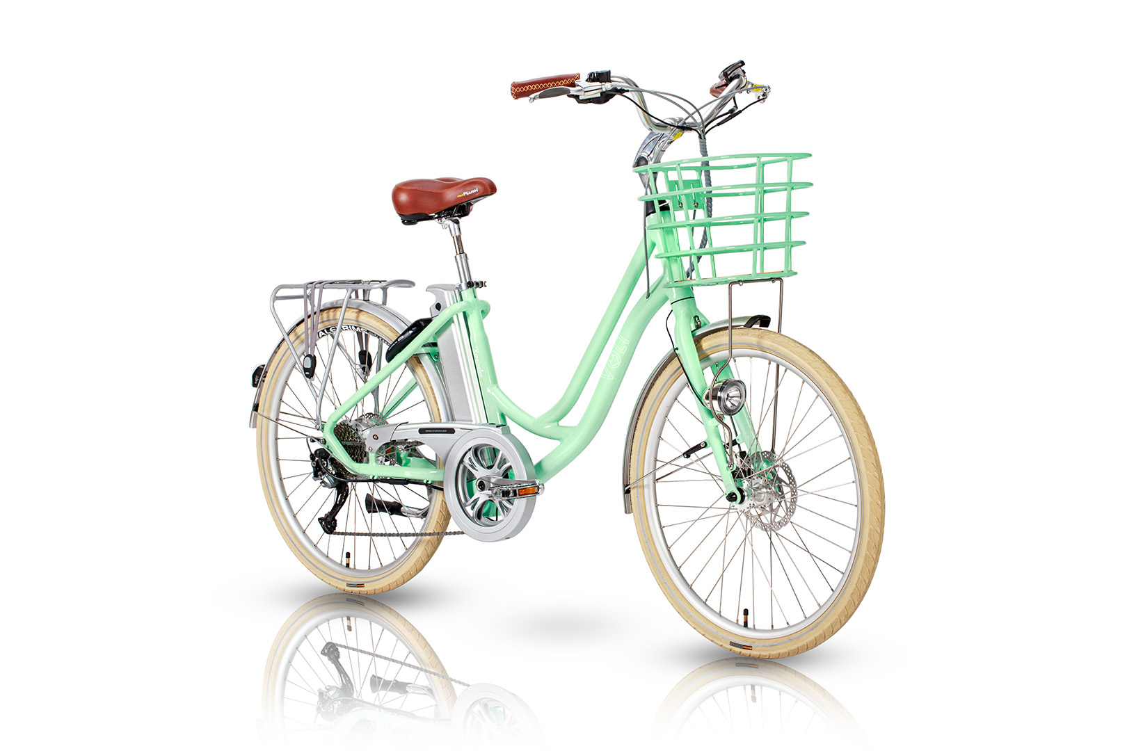 VOLT™ Kensington Green Step Through Electric Bicycle