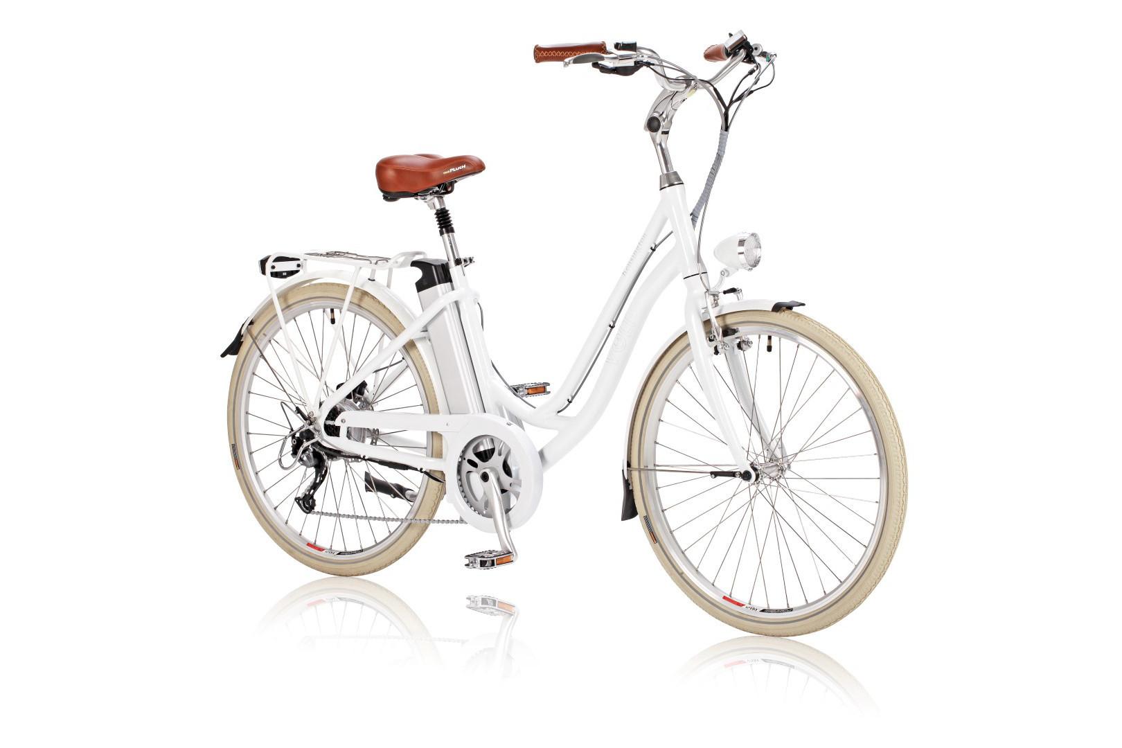 a9eca6fb149 VOLT™ Kensington White Step Through Electric Bicycle