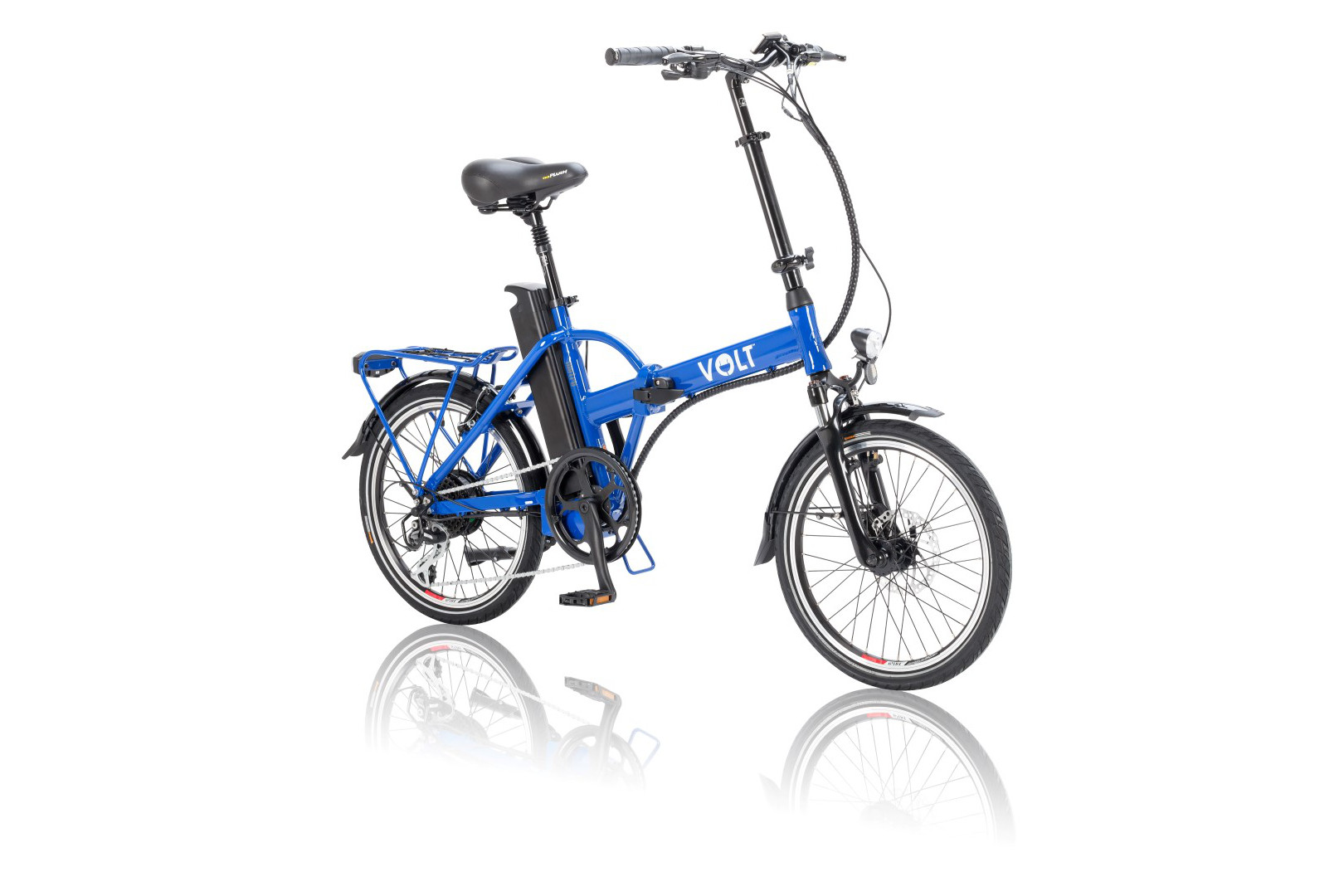 VOLT™ Metro Blue colour folding electric bike