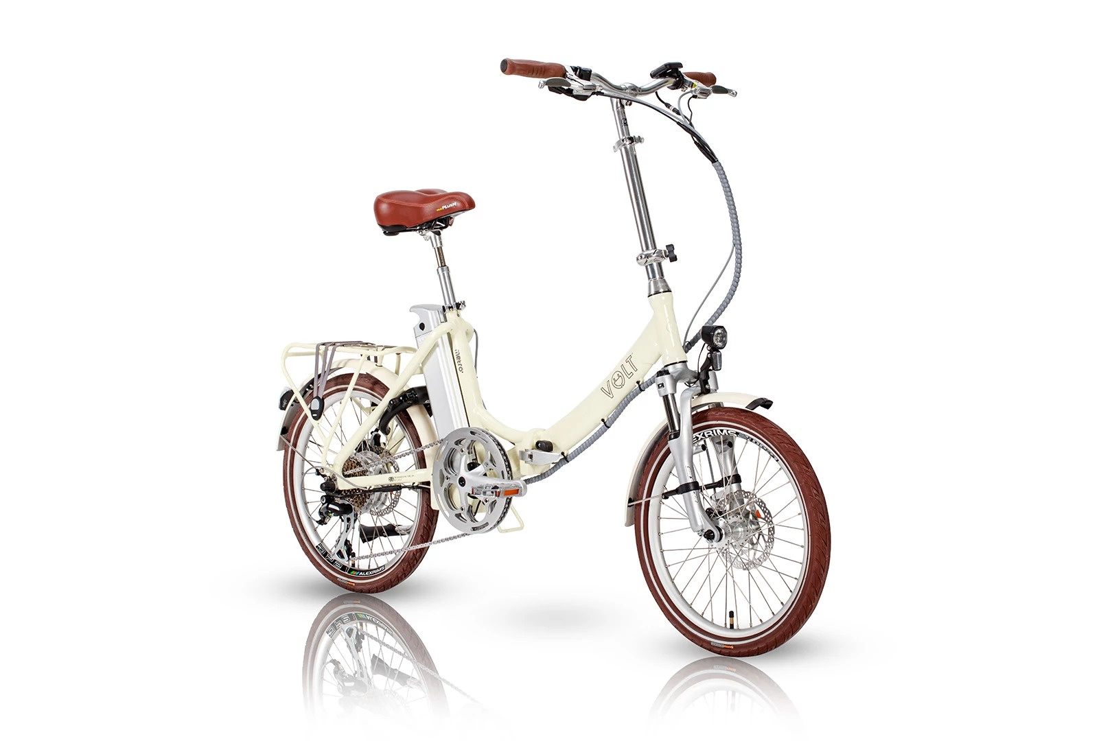 Volt Metro LS Cream Commuter E-bike