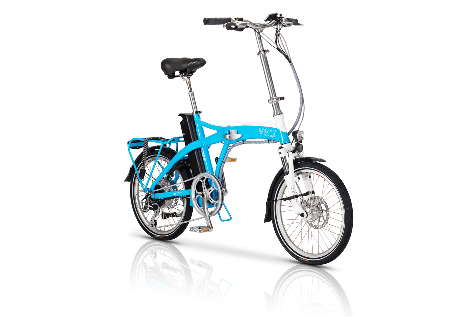 VOLT™ Metro Blue | Folding Electric Bike
