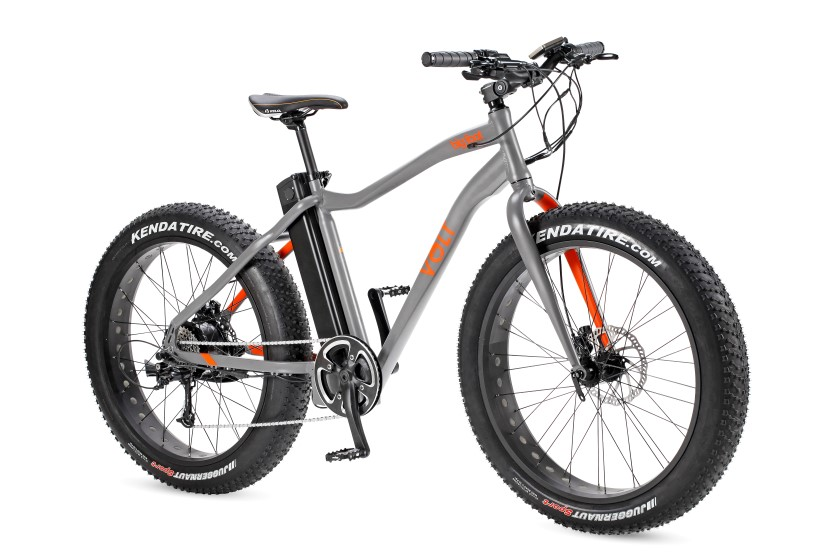 Big foot fat tyre e-bike