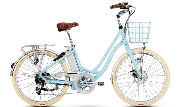 Volt Kensington Step Blue through electric bike