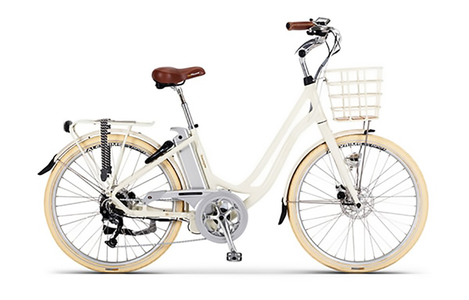 Volt Kensington White 2018 Step Through Electric Bicycle