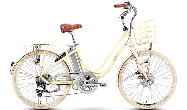 VOLT™ Kensington White Step through electric bike