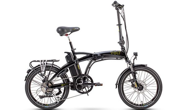Volt Metro Folding E-bike (Black)