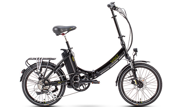 Volt Metro LS Commuter electric cycle (Black)