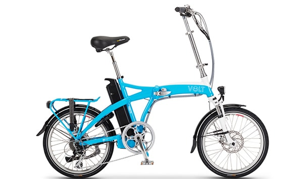 VOLT™ Metro Blue folding electeric bike