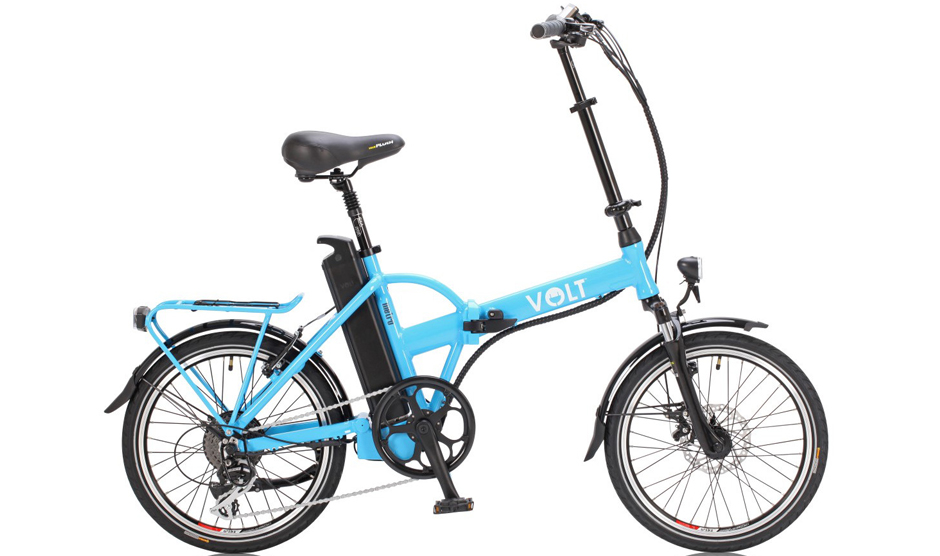 VOLT™ Metro Colour Folding E-bike (Light Blue)