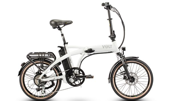 VOLT™ Metro folding electeric bike (White)