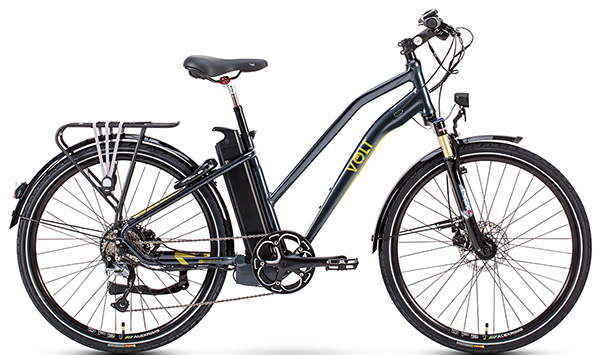 Volt Pulse LS hybrid e-bike (Black)