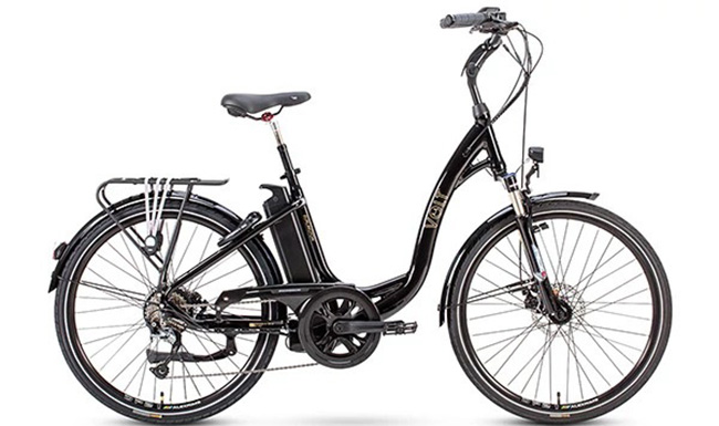 volt burlington step through classic electric bicycle. Black Bedroom Furniture Sets. Home Design Ideas
