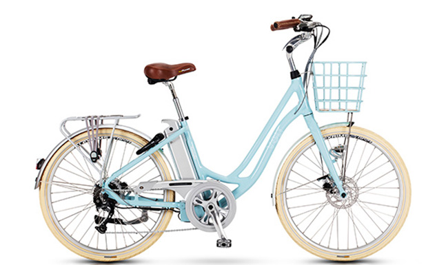 VOLT™ Kensington Step Blue through electric bike