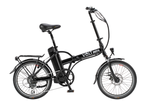 VOLT™ Metro Folding Electric Bike (Black)