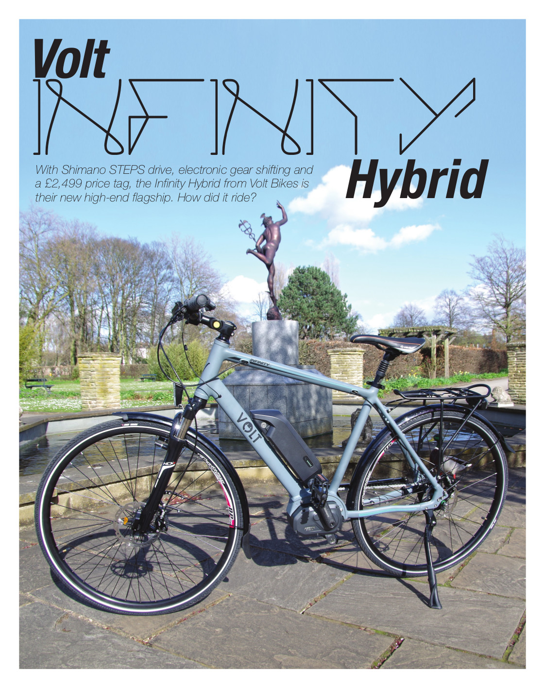 Volt Infinity in the Electric Bike Magazine