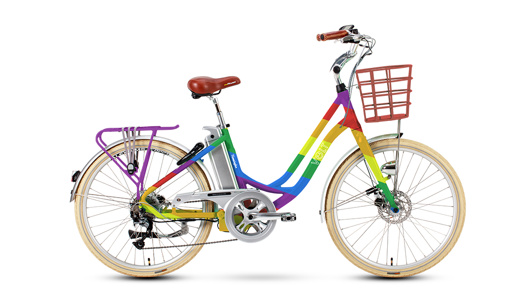 Volt Kensington E Bike Pride Edition Volt Electric Bikes