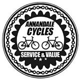 Logo for Annandale Cycles, Moffat
