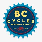 Logo for BC Cycles, St Albans