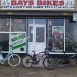 Logo for Bays Bikes, Morecambe
